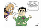 Prayuth doesn't want a coupの画像