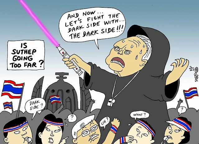 is Suthep going too farnewsclip