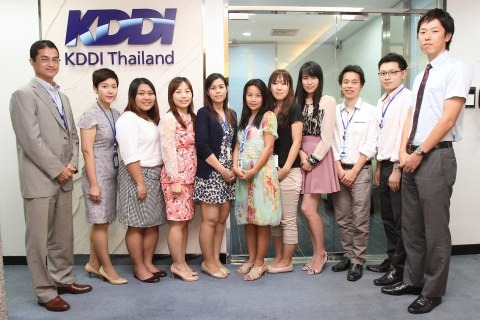 ITインフラ構築 KDDI (Thailand) Ltd.newsclip